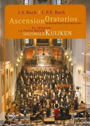 Rent Ascension Oratorios: J.S. Bach: Lobet Gott in Seinen Reichen BWV 11 / C.P.E. Bach: Die Auferstehung Online DVD Rental