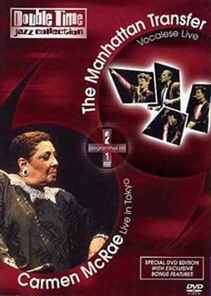 Rent Carmen McRae and the Manhattan Transfer Online DVD Rental