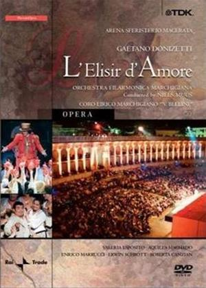 Donizetti: L'Elisir D'Amore: Marchigiana Philharmonic Orchestra Online DVD Rental