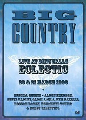 Rent Big Country: Eclectic: Live at Dingwalls Online DVD Rental