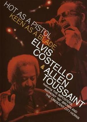 Rent Elvis Costello/Allen Toussaint: Hot as a Pistol Online DVD Rental