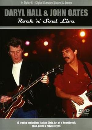 Rent Hall and Oates: Rock 'n' Soul Live Online DVD Rental