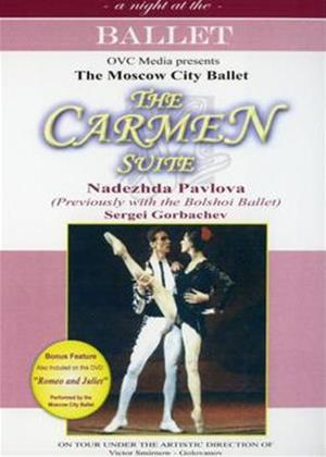 Rent Carmen Suite: Moscow City Ballet Online DVD Rental