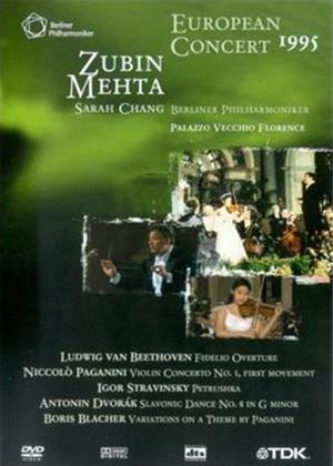 Rent European Concert 1995 Online DVD Rental