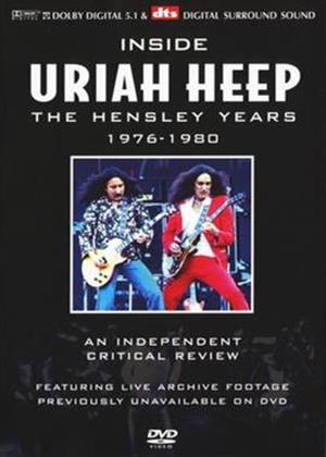 Rent Uriah Heep: Inside: The Hensley Years: 1976 to 1980 Online DVD Rental