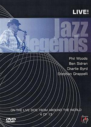 Rent Jazz Legends: Live: Vol.4 Online DVD Rental