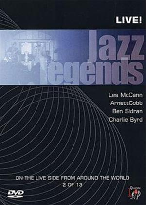 Rent Jazz Legends: Live: Vol.2 Online DVD Rental
