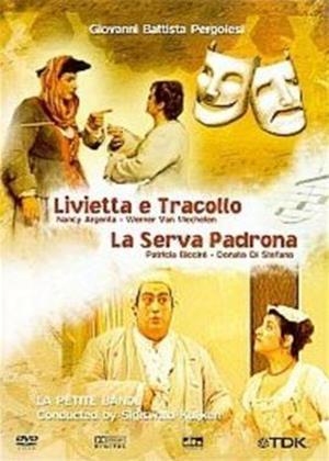 Rent Pergolesi: Livietta E Tracollo / La Serva Padrona: Online DVD Rental