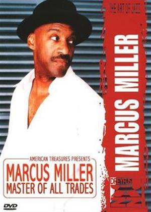 Rent Marcus Miller: Master of All Trades Online DVD Rental
