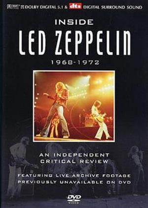 Rent Led Zeppelin: Inside Led Zeppelin Online DVD Rental