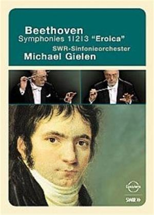Rent Beethoven: Symphonies Nos. 1, 2 and 3: Eroica Online DVD Rental