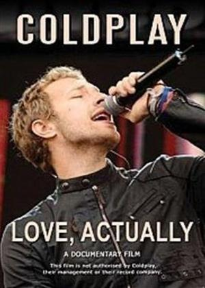 Coldplay: Love Actually Online DVD Rental