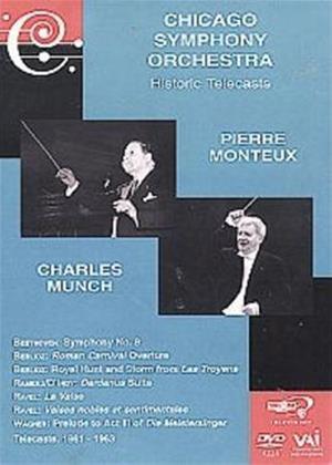 Rent Chicago Symphony Orchestra: Historic Telecasts: Pierre Monteu Online DVD Rental