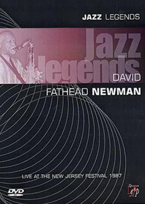 Rent Jazz Legends: David Fathead Newman Online DVD Rental