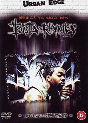 Rent Busta Rhymes: Break Ya Neck with Busta Rhymes Online DVD Rental