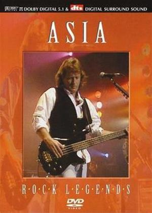 Asia: Rock Legends Online DVD Rental
