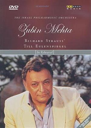 Rent Zubin Mehta in Rehearsal Online DVD Rental