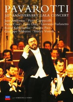 Rent Luciano Pavarotti: 30th Anniversary Gala Concert Online DVD Rental