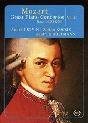 Rent Mozart: Great Piano Concertos: Vol.2 Online DVD Rental