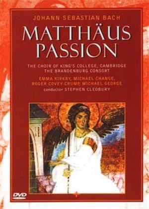 Rent Bach: Matthaus Passion: Online DVD Rental