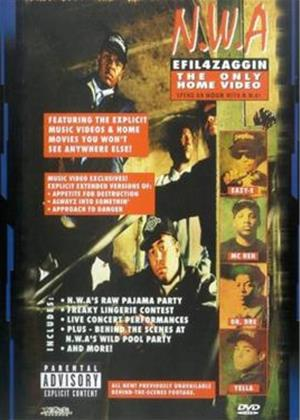 N.W.A.: EFIL4ZAGGIN: The Only Home Video Online DVD Rental