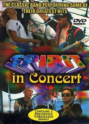 Rent Spirit: Live in Concert Online DVD Rental