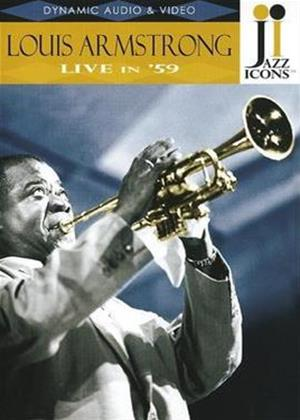 Louis Armstrong: Live in '59 Online DVD Rental