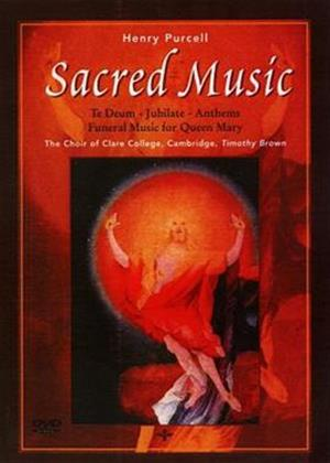 Rent Henry Purcell: Sacred Music: Cambridge the Choir of Clare College Online DVD Rental