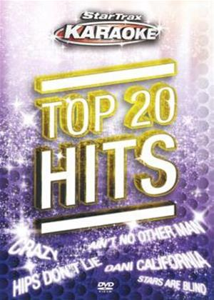 Startrax Karaoke: Top 20 Hits Online DVD Rental