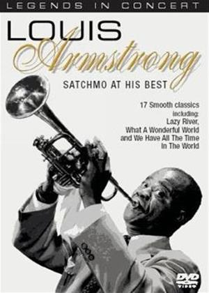 Rent Louis Armstrong: Satchmo at His Best Online DVD Rental
