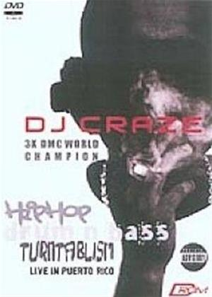 Rent DJ Craze: Hip Hop / Drum and Bass Turntablism Online DVD Rental