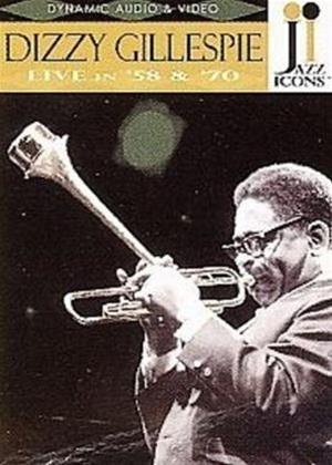 Dizzy Gillespie: Live in '58 and '70 Online DVD Rental