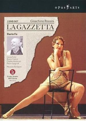 Rent Rossini: La Gazzetta Online DVD Rental