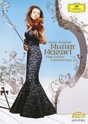 Mozart: Concertos: Anne-Sophie Mutter Online DVD Rental