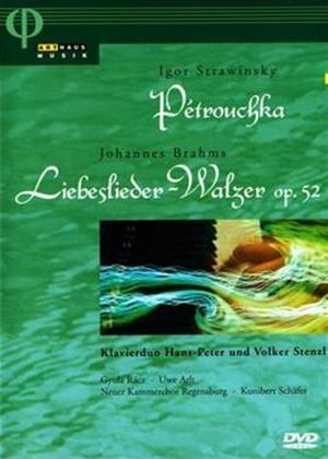 Rent Petrouchka: Stravinksy / Brahms: Liebeslieder-Walzer Op. 52 Online DVD Rental
