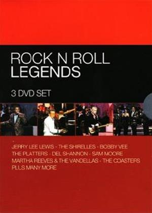 Rent The Rock N Roll Legends Online DVD Rental