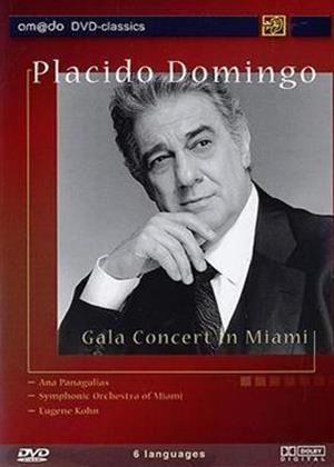 Placido Domingo: Gala Concert in Miami Online DVD Rental