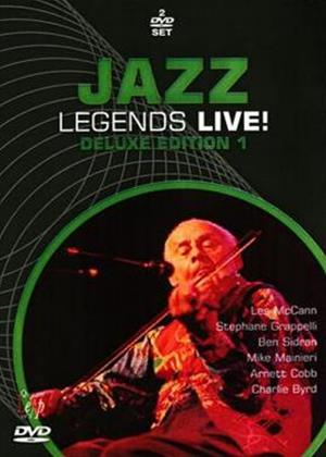 Rent Jazz Legends Live!: Deluxe Edition 1 Online DVD Rental
