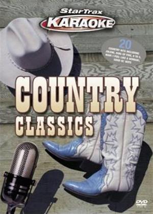 Startrax Karaoke: Country Classics Online DVD Rental