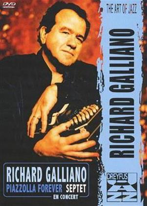 Richard Galliano: Piazzolla Forever: En Concert Online DVD Rental