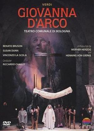 Giovanna D'Arco: Teatro Comunale Di Bologna Online DVD Rental
