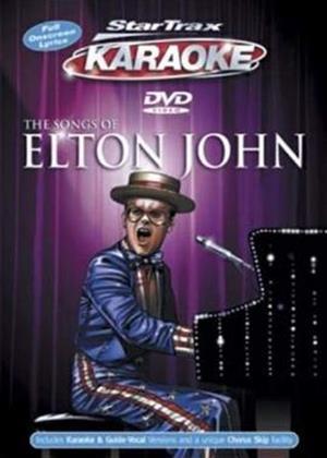 Startrax Karaoke: The Songs of Elton John Online DVD Rental