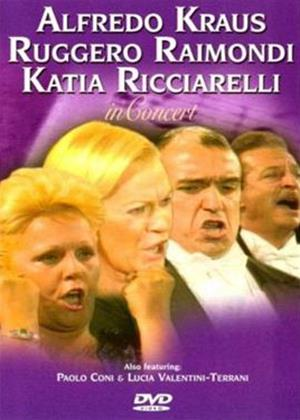 Rent Alfredo Kraus, Ruggero Raimondi and Katia Ricciarelli: In Concert Online DVD Rental
