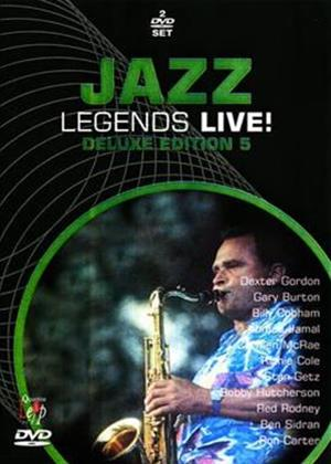 Rent Jazz Legends Live!: Deluxe Edition 5 Online DVD Rental