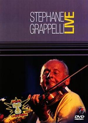 Stephane Grappelli: Live Online DVD Rental