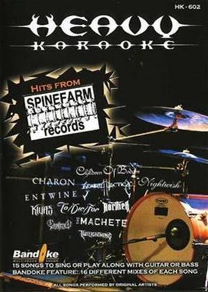 Rent Heavy Karaoke: Hits from Spinefarm Online DVD Rental