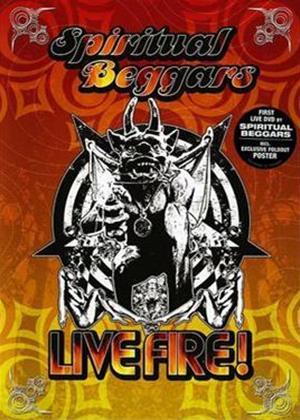 Spiritual Beggers: Live Fire Online DVD Rental