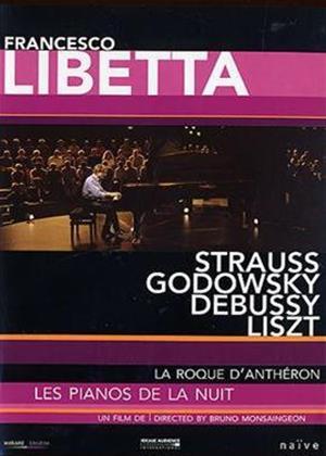 La Roque D'Antheron: Les Pianos De La Nuit: Francesco Libetta Online DVD Rental