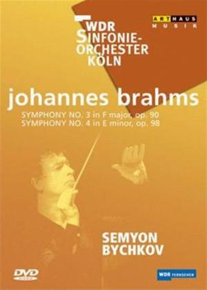 Brahms: Symphonies Nos. 3 and 4 Online DVD Rental