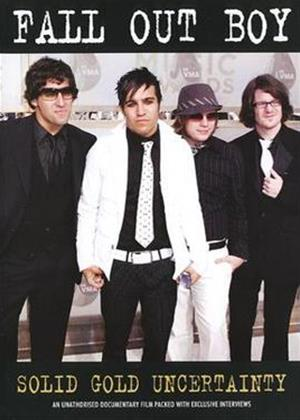 Fall Out Boy: Solid Gold Uncertainty Online DVD Rental